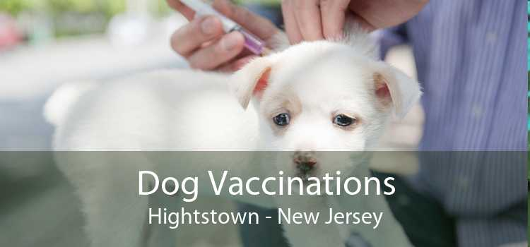 Dog Vaccinations Hightstown - New Jersey