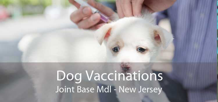 Dog Vaccinations Joint Base Mdl - New Jersey
