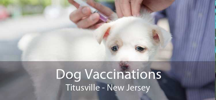 Dog Vaccinations Titusville - New Jersey